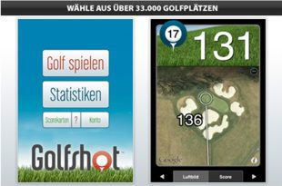 Maps Entfernungsmesser Iphone : Golfshot golf gps iphone app